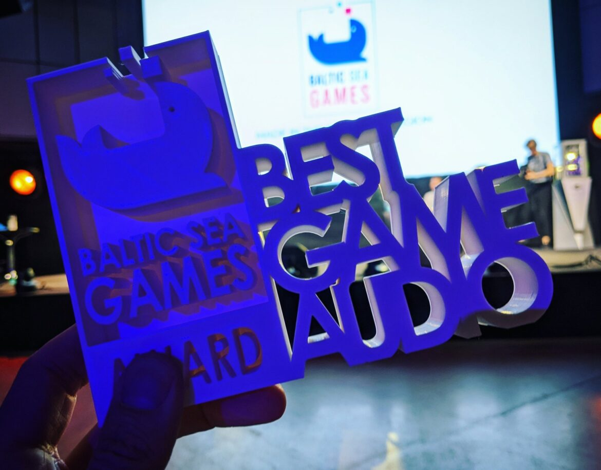 Award for Best Game Audio to Hexagroove 2019