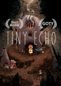 Promotional cover for the game Tiny Echo by Might and Delight